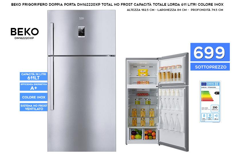 Frigoriferi di lello sound for Dimensioni frigorifero
